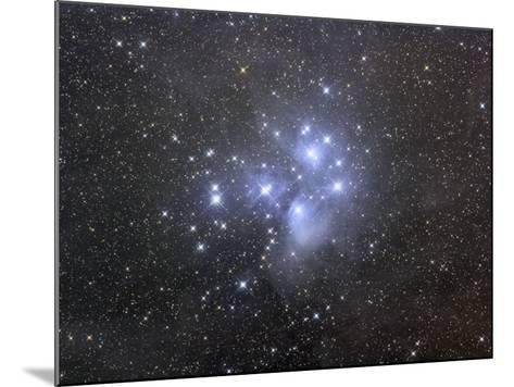 M45, the Seven Sisters or Pleiades-Matthew Russell-Mounted Photographic Print