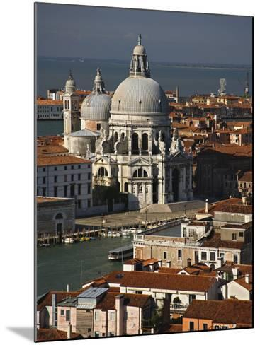 Grand Canal and Santa Maria Della Salute Viewed from the Campanile, Piazza San Marco, Venice, Italy-Adam Jones-Mounted Photographic Print