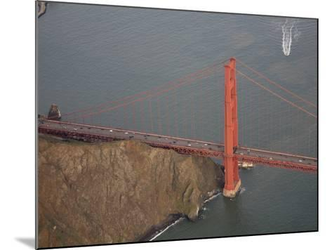 North Buttress of Golden Gate Bridge, California-Marli Miller-Mounted Photographic Print