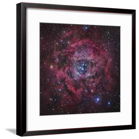 The Rosette Nebula in Monoceros-Robert Gendler-Framed Art Print