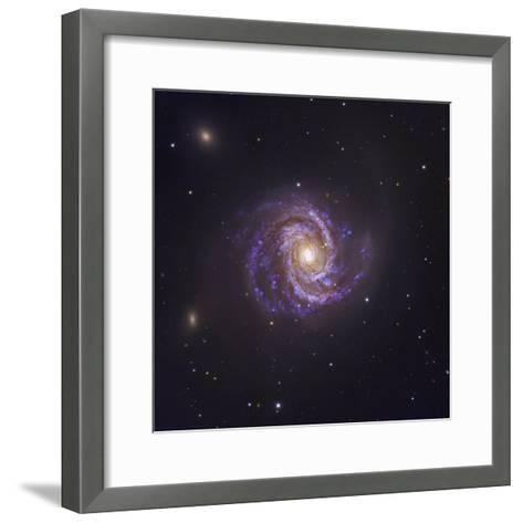 The Spiral Galaxy M100 and Supernova Sn2006X-Robert Gendler-Framed Art Print