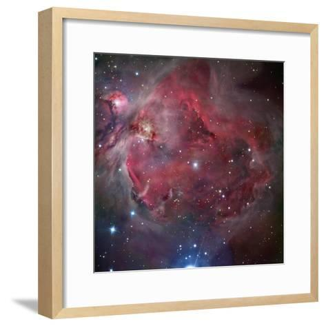 M42, the Great Nebula in Orion-Matthew Russell-Framed Art Print