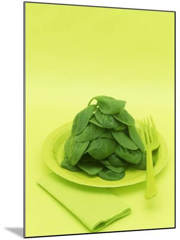 Spinach-Wally Eberhart-Mounted Photographic Print