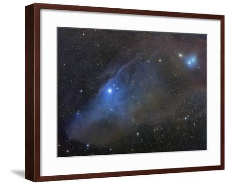 Ic 4592 and Ic 4601 Reflection Complex in Scorpius-Robert Gendler-Framed Art Print