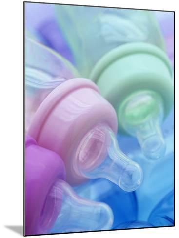 Plastic Baby Bottles, Polycarbonate, Petroleum Product-Wally Eberhart-Mounted Photographic Print