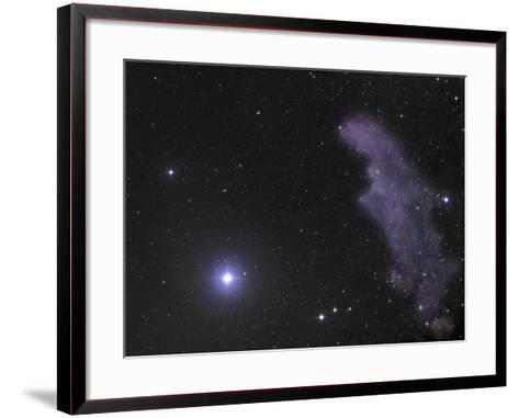 The Star Rigel and Ic2118 in Eridanus-Robert Gendler-Framed Art Print