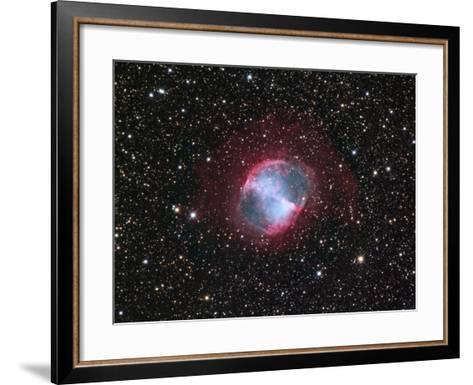M27, the Dumbbell Nebula in Vulpecula-Robert Gendler-Framed Art Print