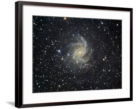 Ngc 6946 Spiral Galaxy in Cepheus-Robert Gendler-Framed Art Print