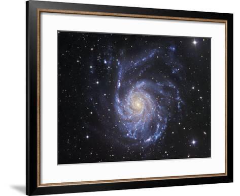 M101 Spiral Galaxy in Ursa Major-Robert Gendler-Framed Art Print