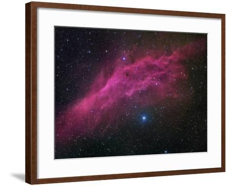 Ngc 1499, the California Nebula-Robert Gendler-Framed Art Print