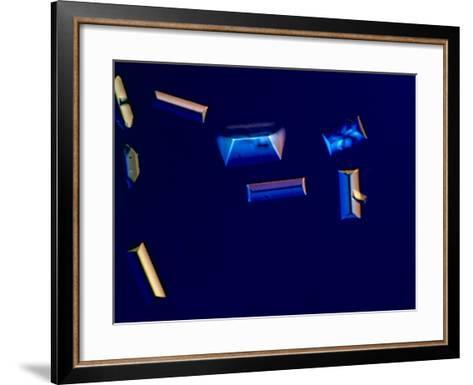 Urine with Triple Phosphate Crystals, Unstained, Dic View-Frederick Skvara-Framed Art Print