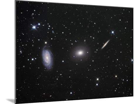 Ngc 5985, 5982, and 5981 Galaxies in Draco-Robert Gendler-Mounted Photographic Print