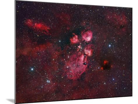 Ngc 6334, the Cat Paw Nebula-Robert Gendler-Mounted Photographic Print