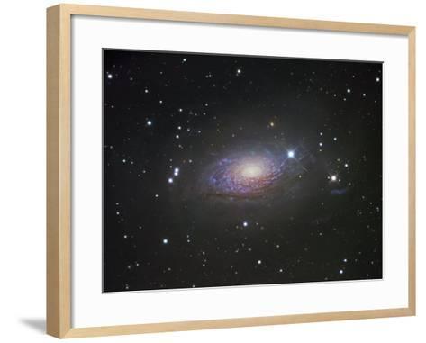 M63, Spiral Galaxy in Canes Venatici-Robert Gendler-Framed Art Print