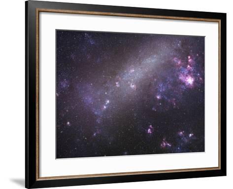 The Large Magellanic Cloud-Robert Gendler-Framed Art Print