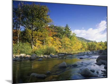 Swift River in the Autumn, White Mountains National Forest, New Hampshire, USA-Adam Jones-Mounted Photographic Print