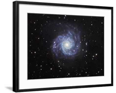 M74, Spiral Galaxy in Pisces-Robert Gendler-Framed Art Print