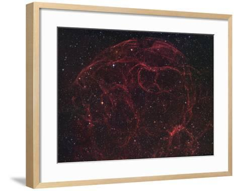 Simeis 147 (Sh2-240), Supernova Remnant in Taurus-Robert Gendler-Framed Art Print