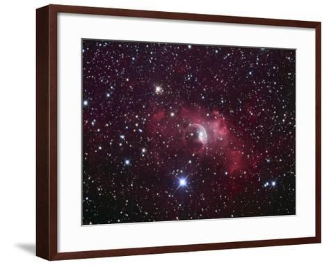 Bubble Nebula in Cassiopeia, Nm7, Ngc7635-Robert Gendler-Framed Art Print