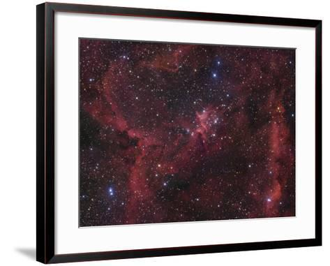 The Region of Nebula Ic1805-Robert Gendler-Framed Art Print