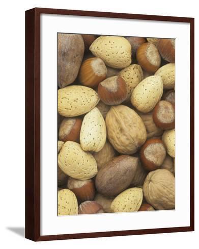 Nuts, Pecan, Walnut, Hazel and Almond-Wally Eberhart-Framed Art Print