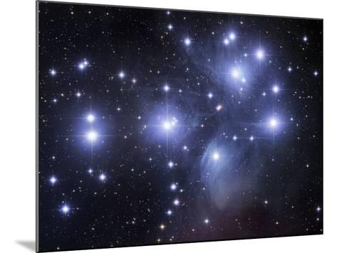 Messier 45, the Pleiades or Seven Sisters-Robert Gendler-Mounted Photographic Print