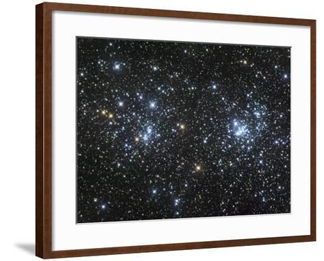 Double Star Clusters Ngc 884 and Ngc869-Robert Gendler-Framed Art Print
