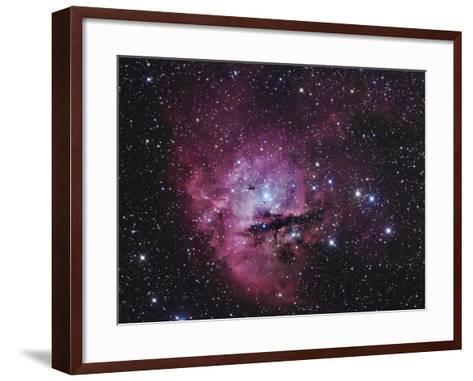 Ngc 281, Emission Nebula and Open Cluster in Cassiopeia-Robert Gendler-Framed Art Print