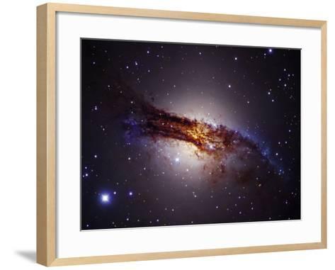 Centaurus a Lenticular Galaxy, Ngc5128-Robert Gendler-Framed Art Print