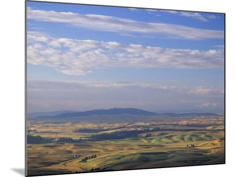 Rolling Hills of Palouse Farm Country, Eastern Washington, USA-Adam Jones-Mounted Photographic Print