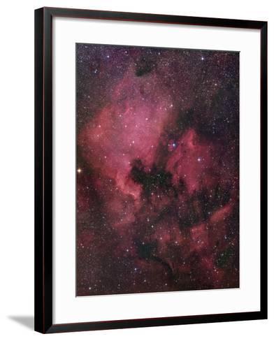 Ngc 7000, the North American Nebula in Cygnus-Robert Gendler-Framed Art Print