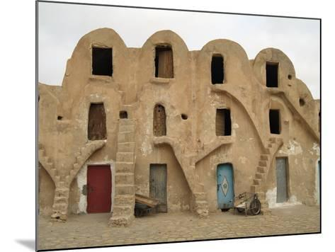 Traditional Ksar, Berber Village, Fortified Granary, Medenine, Tunisia-Gary Cook-Mounted Photographic Print