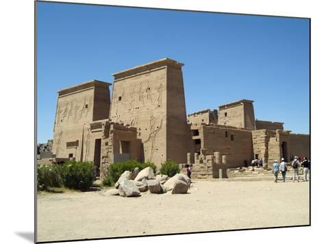 Temple of Isis, Philae, Aswan, Egypt-Gary Cook-Mounted Photographic Print