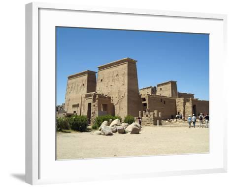 Temple of Isis, Philae, Aswan, Egypt-Gary Cook-Framed Art Print