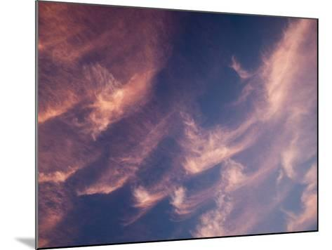 Cirrus Clouds at Sunset-Ashley Cooper-Mounted Photographic Print
