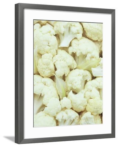 Pieces of Crunchy, Nutritious Cauliflower(Brassica Oleracea)-Wally Eberhart-Framed Art Print
