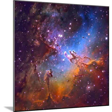 M16 (NGC 6611) the Eagle Nebulis 7000 Light Years Away-Robert Gendler-Mounted Photographic Print