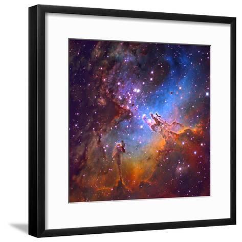 M16 (NGC 6611) the Eagle Nebulis 7000 Light Years Away-Robert Gendler-Framed Art Print