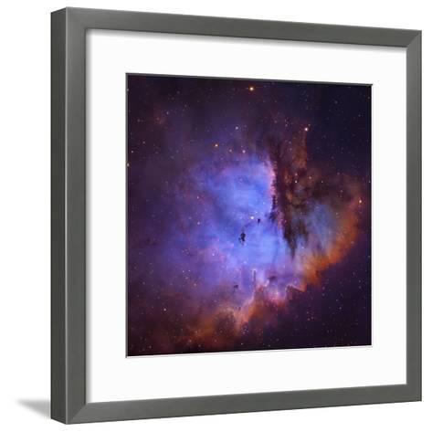 NGC 281 (Ic 1590) Pacman Nebula the Hii Region NGC 281-Robert Gendler-Framed Art Print