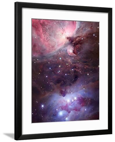 The Sword Region of the Constellation Orion, the Hunter-Robert Gendler-Framed Art Print