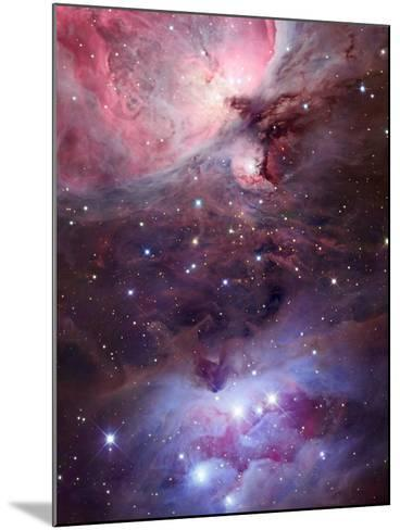 The Sword Region of the Constellation Orion, the Hunter-Robert Gendler-Mounted Photographic Print