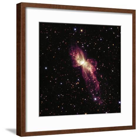 NGC 6302 the Bug Nebula or Butterfly Nebula NGC 6302-Robert Gendler-Framed Art Print