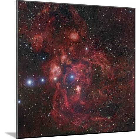 The Lobster Nebula in Scorpius, NGC 6357-Robert Gendler-Mounted Photographic Print