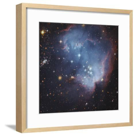 NGC 602 and Beyond Near the Outskirts of the Small Magellanic Cloud-Robert Gendler-Framed Art Print