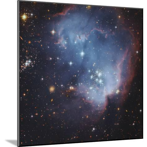 NGC 602 and Beyond Near the Outskirts of the Small Magellanic Cloud-Robert Gendler-Mounted Photographic Print