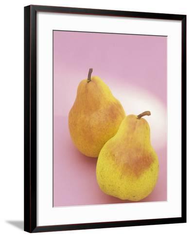Bartlett Pears (Pyrus Communis)-Wally Eberhart-Framed Art Print