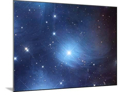 The Merope Nebulosity and Ic 349-Robert Gendler-Mounted Photographic Print