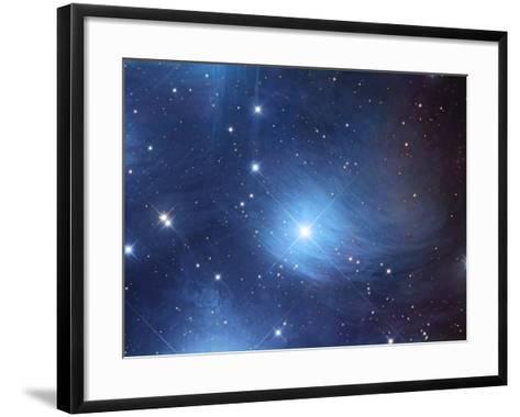 The Merope Nebulosity and Ic 349-Robert Gendler-Framed Art Print