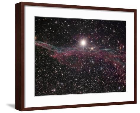 NGC 6960, the Witch's Broom Nebula in Cygnus-Robert Gendler-Framed Art Print