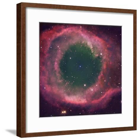 NGC 7293, the Helix Nebula Is the Nearest Planetary Nebula to Our Sun-Robert Gendler-Framed Art Print